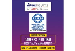 ABP VIRTUAL INSIGHTS WITH IIHM ON HOSPITALITY MANAGEMENT EDUCATION